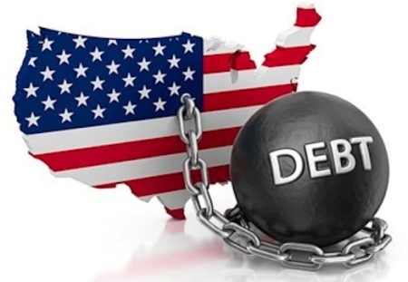 US Debt Ball Chain