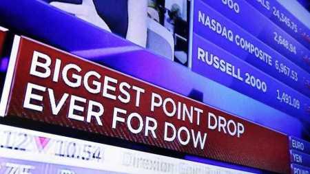 Wall Street Drop